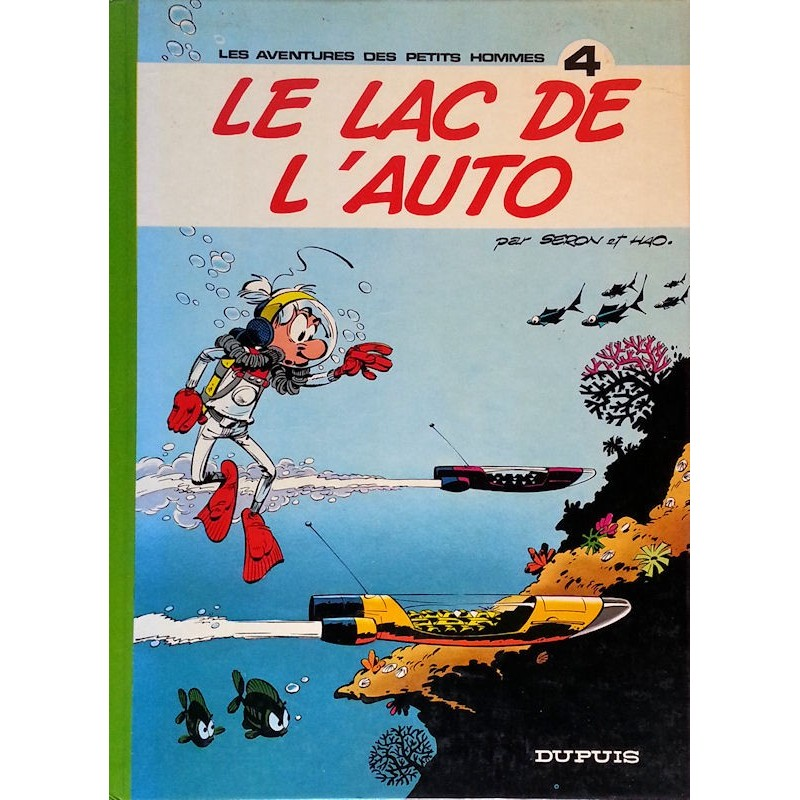 Seron & Hao - Les aventures des petits hommes, Tome 4 : Le lac de l'auto