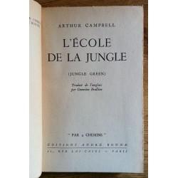 Arthur Campbell - L'école de la jungle