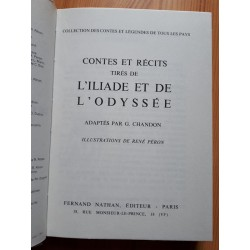 G. Chandon - Contes et récits tirés de l'Iliade et de l'Odyssée