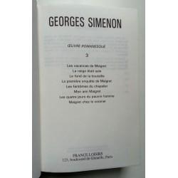 Georges Simenon - Tout Simenon, Tome 3