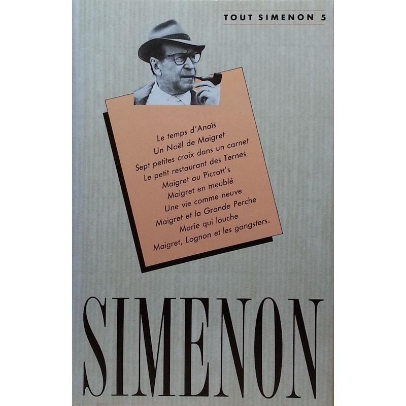 Georges Simenon - Tout Simenon, Tome 5
