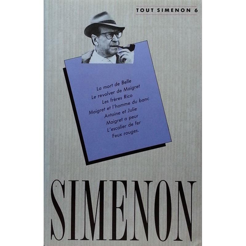 Georges Simenon - Tout Simenon, Tome 6