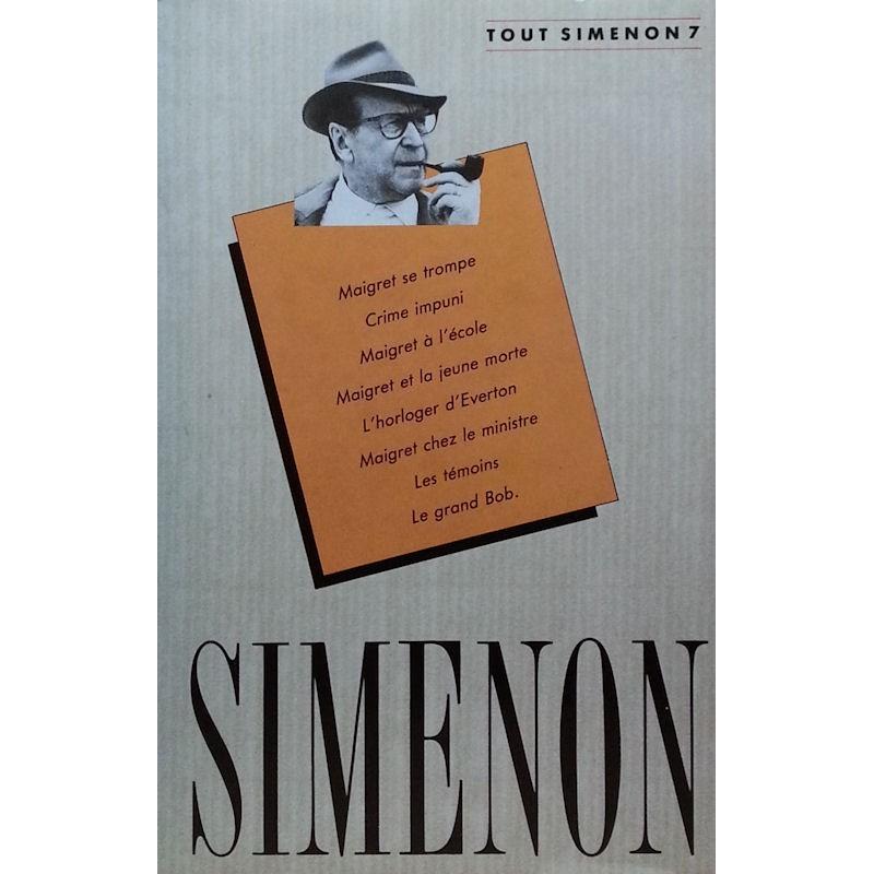 Georges Simenon - Tout Simenon, Tome 7