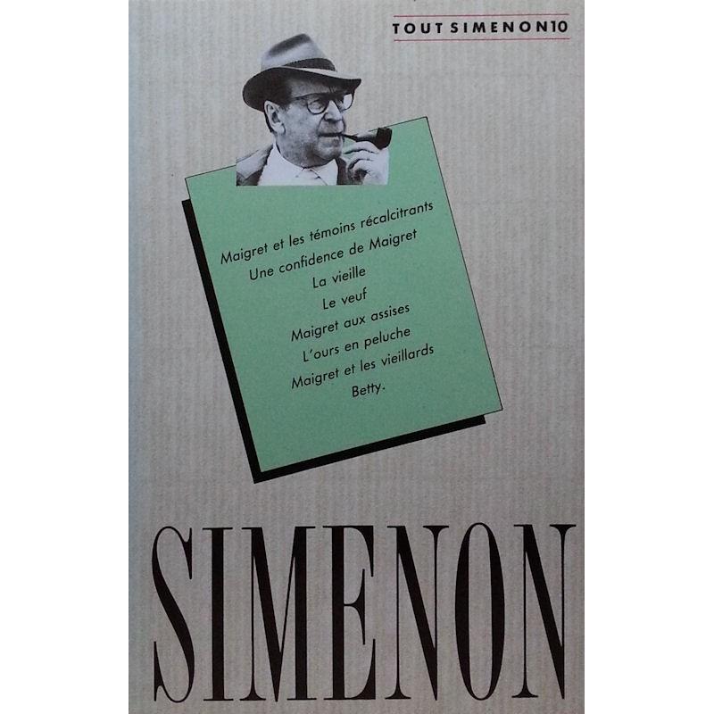 Georges Simenon - Tout Simenon, Tome 10