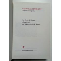 Georges Simenon : Œuvres complètes, Tome 12