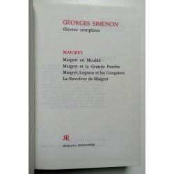 Georges Simenon : Œuvres complètes, Tome 16