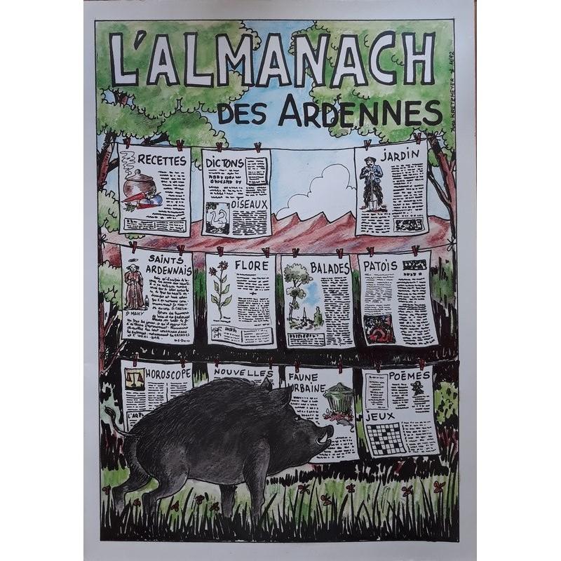 L'almanach des Ardennes