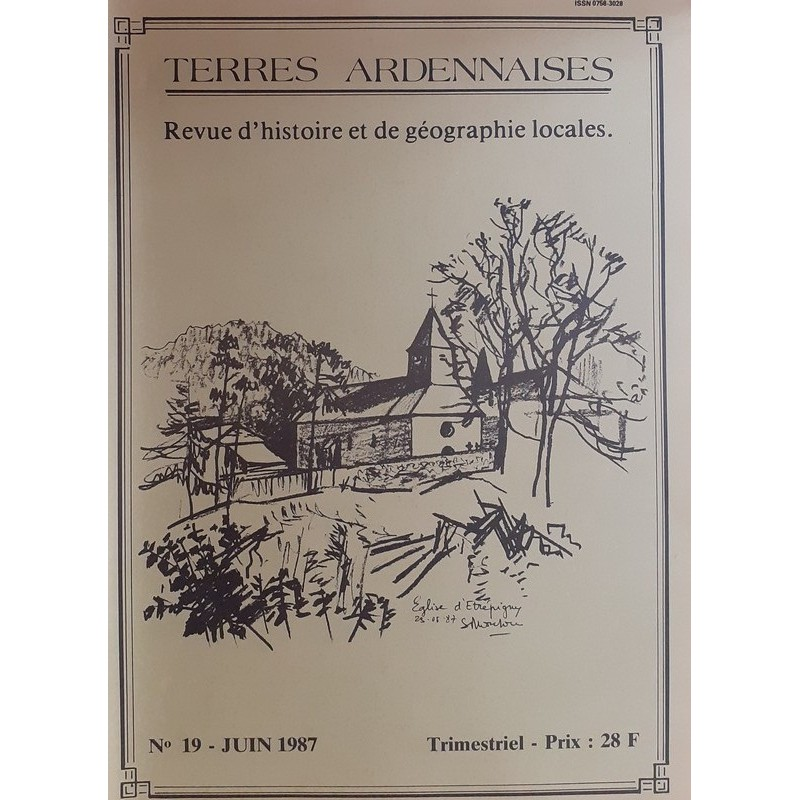 Terres Ardennaises n°19 - Juin 1987