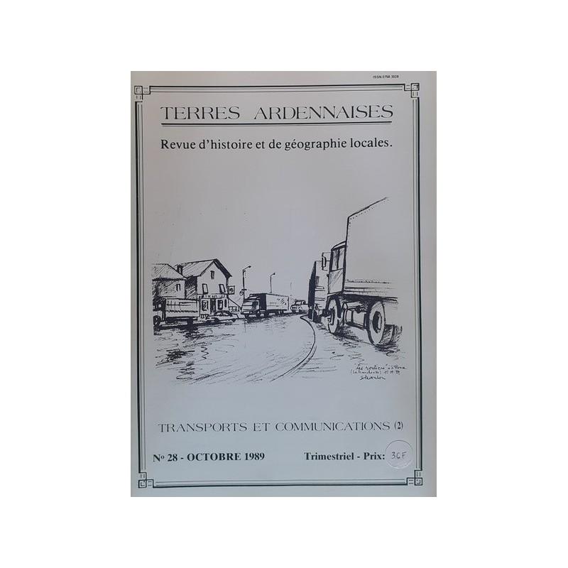 Terres Ardennaises n°28 - Octobre 1989