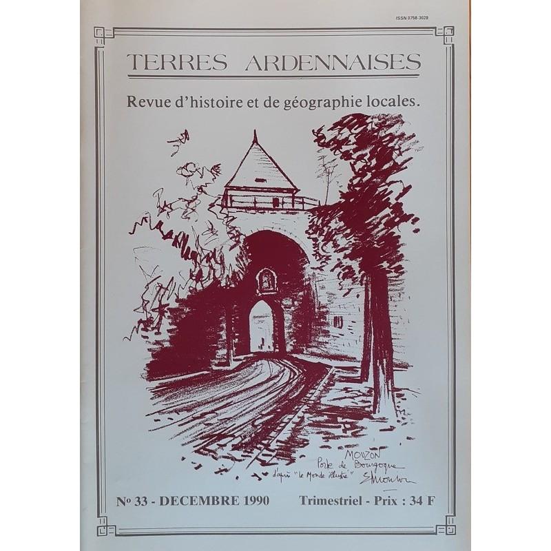 Terres Ardennaises n°33 - Décembre 1990