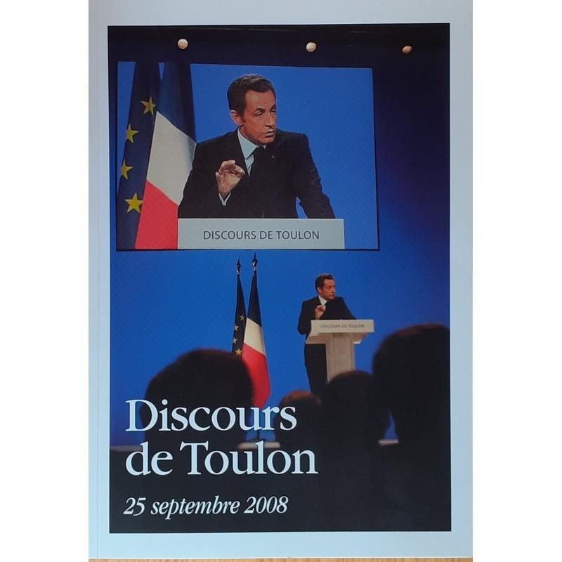 Nicolas Sarkosy - Discours de Toulon
