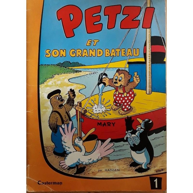 Hansen - Petzi, Tome 1 : Et son grand bateau