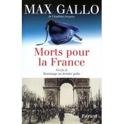 Max Gallo - Morts pour la France