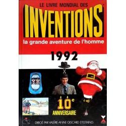 Le livre mondial des inventions 1992 : la grande aventure de l'homme