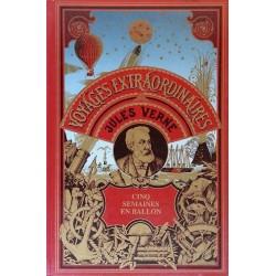 Jules Verne - Cinq semaines en ballon